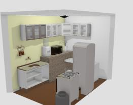 cozinha mãe sem parede