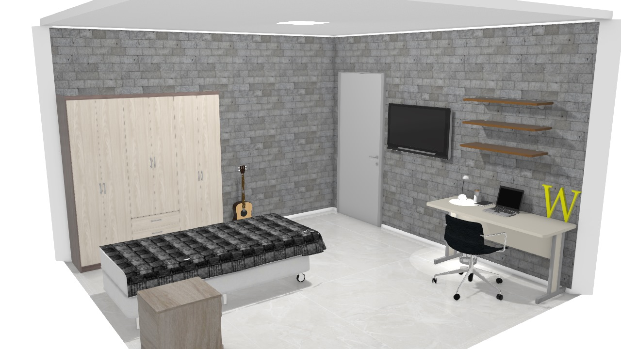 wesley's new room