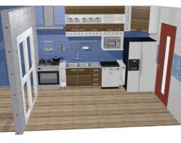 Apartamento Campo Belo - Cozinha e Área de Serviço