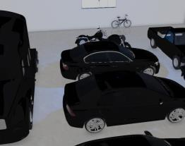 Garagem milionária do Dudu R$ 3,609,290