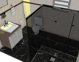 banheiro preto