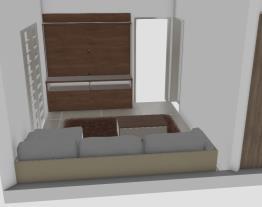 Cozinha e sala nova