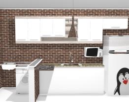 Cozinha renderalizada