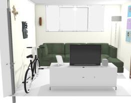 Ape - basement - living room