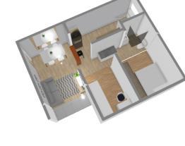 Sala, Cozinha e Banheiro - Amanda