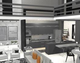 Apartamento de luxo moderno