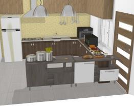 cozinha do andar de baixo