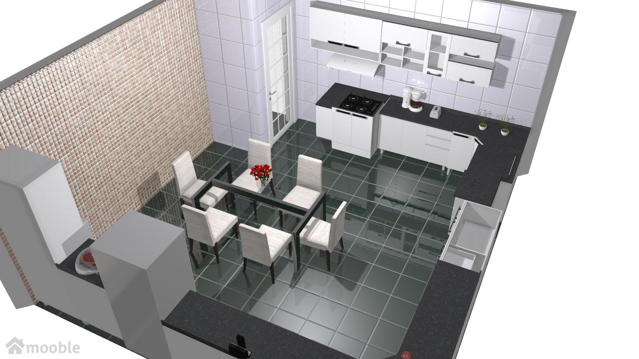 cozinha branca Joice