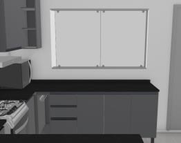 Cozinha Sobrado - Opção reta