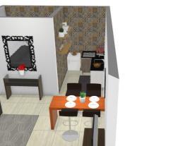 Sala/cozinha Jaque