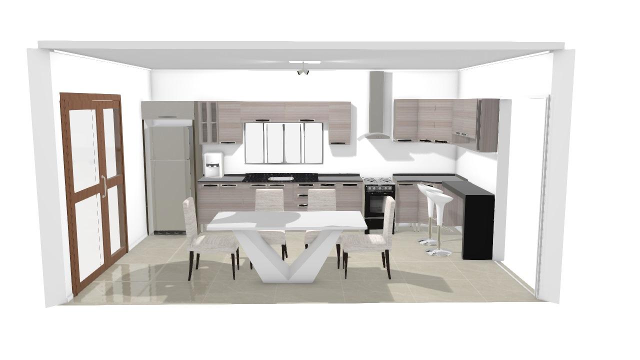 Cozinha Itatiaia para modelo