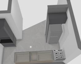 Cozinha Sobrado - Opção L