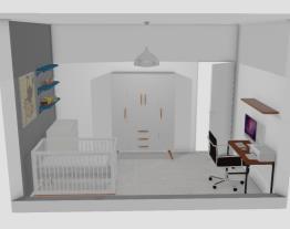 Quarto e home office