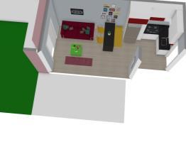 Sala e Cozinha Medidas corretas