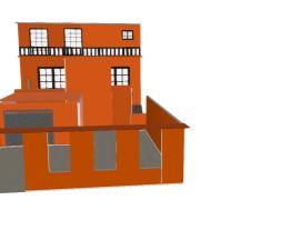 fachada laranja