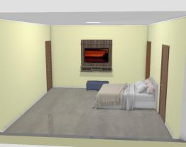 quarto Sergio rua 22 suite 01