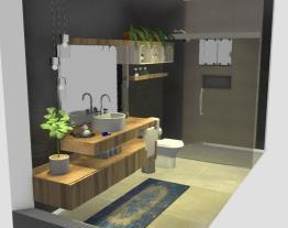 Casa - banheiro quarto hospedes