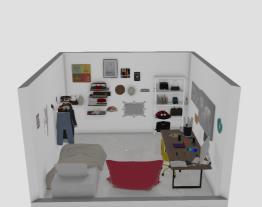 Um quarto de uma Artista