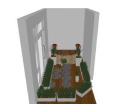 Meu projeto no Mooble jardinho externo