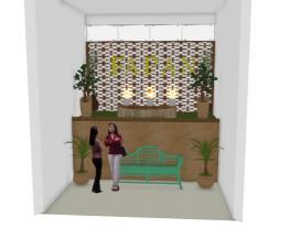Projeto Paisagismo mezanino fapan
