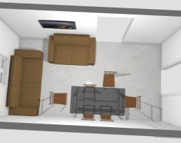 sala 12,4 m²  Móveis Sul
