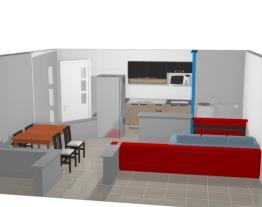 cozinha/sala aquarela2
