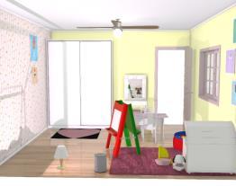 quarto de criança menina