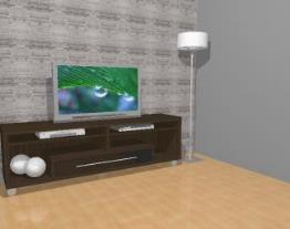 Rack para tv / balcão com rodízios - Ref. 1651/A - Quiditá