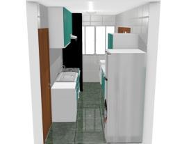Cozinha e Área de Serviço - Andreia