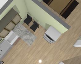 casa completa cozinha com modelo 1 de mesa