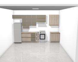 Meu projeto Kappesberg - Cozinha e Lavanderia - parede 1