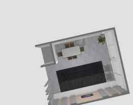 Sala de estar e jantar - opção 2