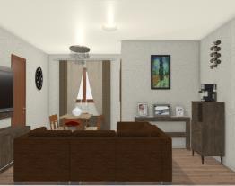 Sala Dois Ambientes Elenyra