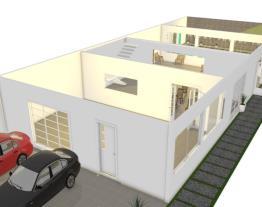 projeto casa com piscina