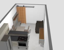 Cozinha Itatiaia com 6 metros comprimento-3