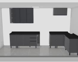 Meu projeto parede fogão