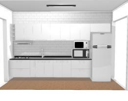 Cozinha branca Manu