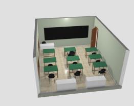 Sala de Aula Adaptada Para Deficiente Físico