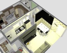 Apartamento Unitá YOU Escandinavo Maquina Oculta 191