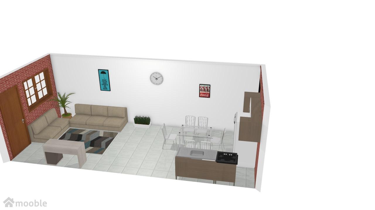 Sala-cozinha Eduardo Dutty