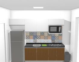 Cozinha/ Banheiro e Mine lavanderia