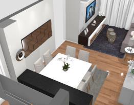 3 Cozinha integrada as salas pequenas - Graziela Lara