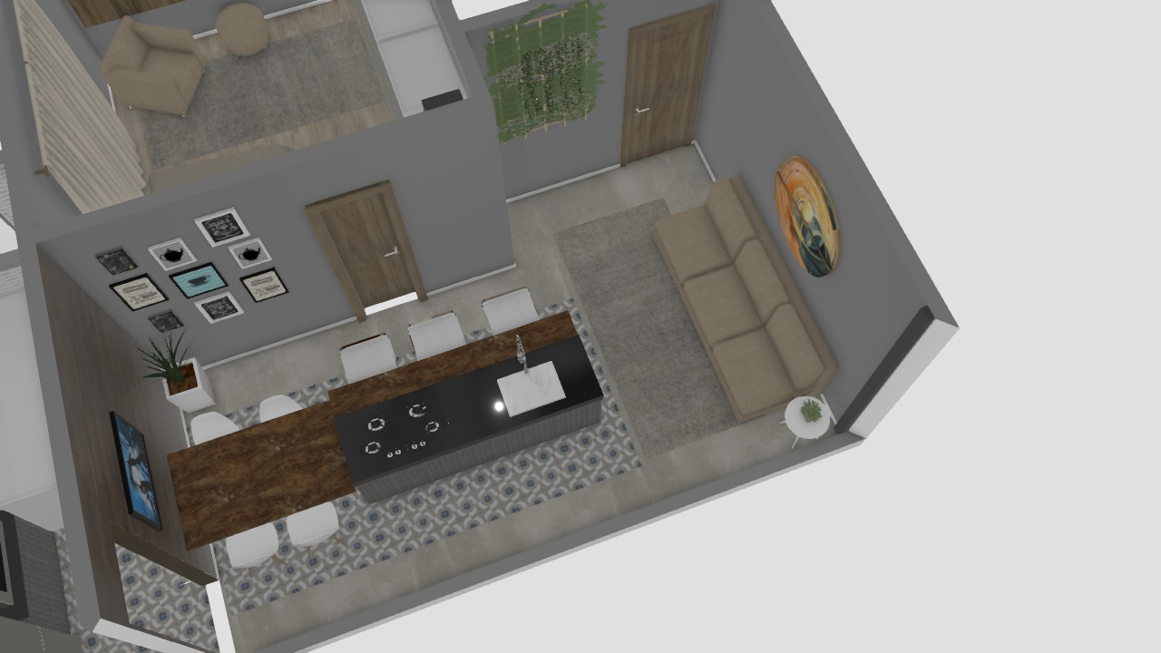 cozinha separada magdo aberta