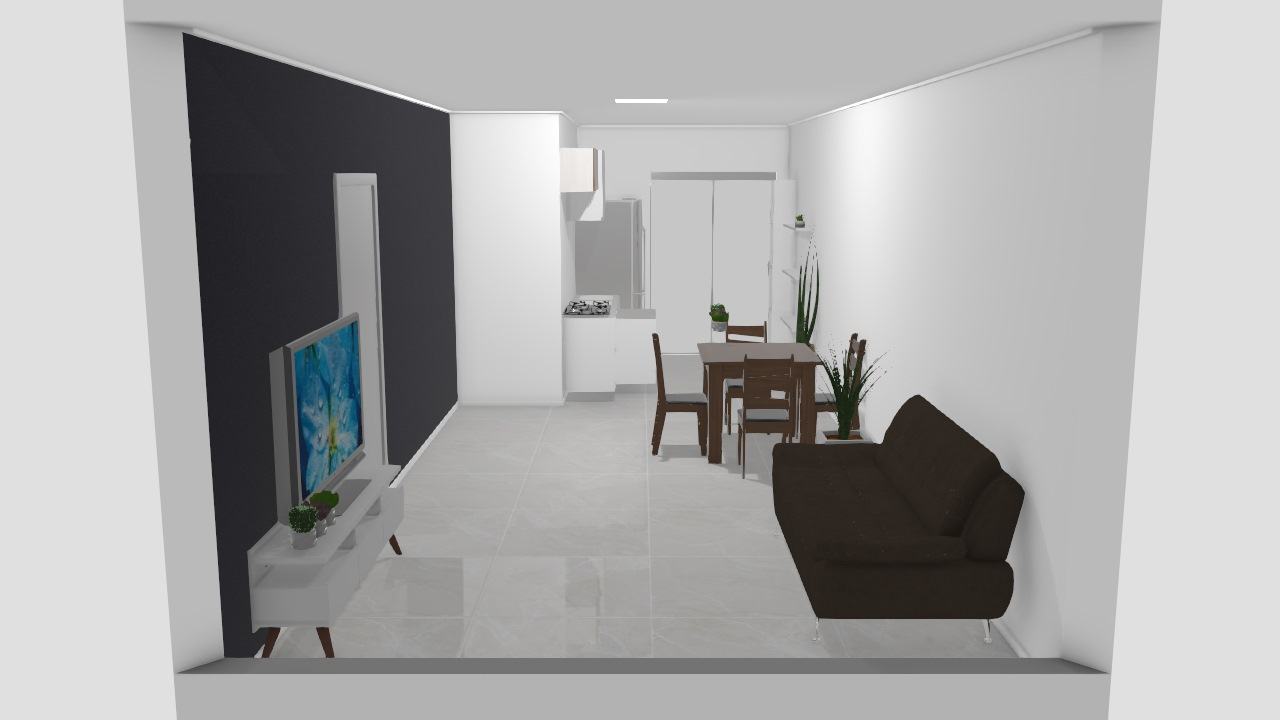 Sala e cozinha (rascunho)