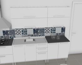 Cozinha Dandara Verde - Branca