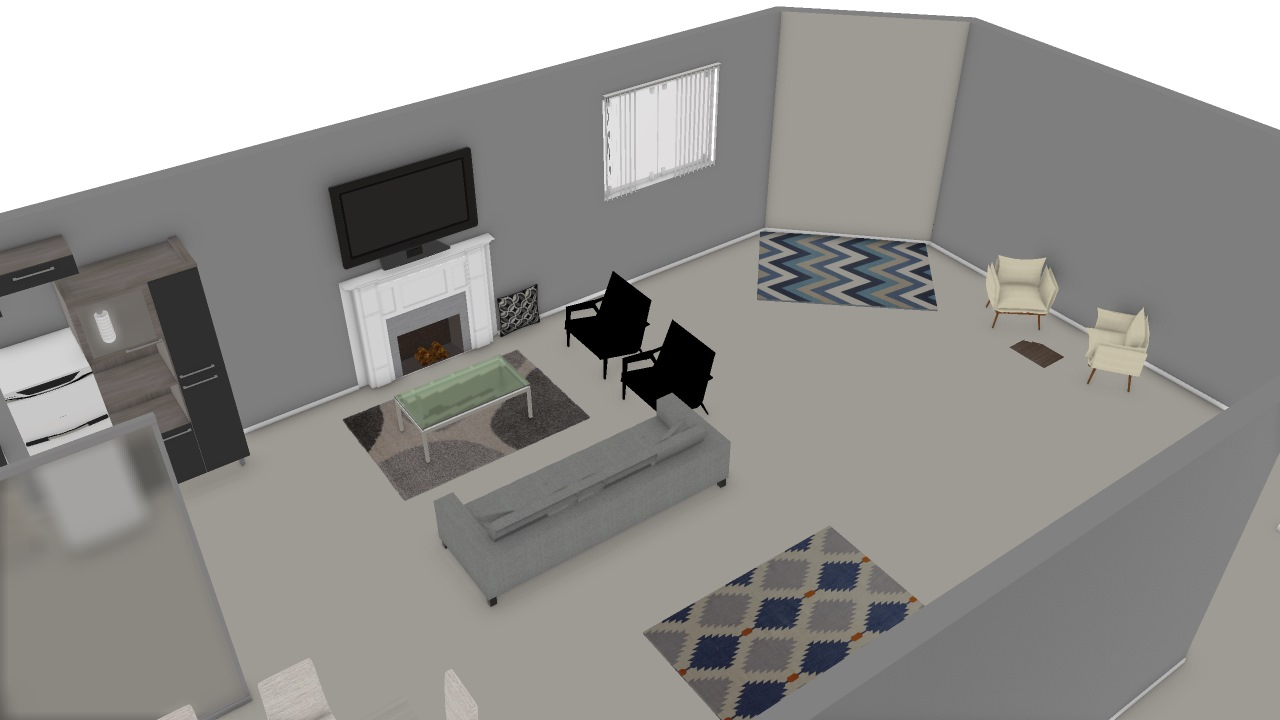 Casa Moderna Bianca.Casa Moderna De Bianca Planta 3d Mooble