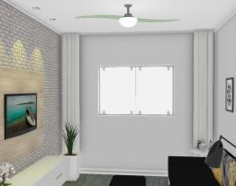 sala de tv finalizada