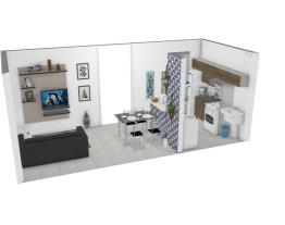sala/cozinha Kisa