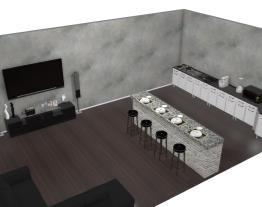 Sala/Cozinha KF&RW