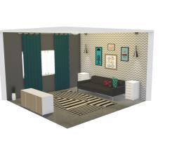Sala feminina moderna